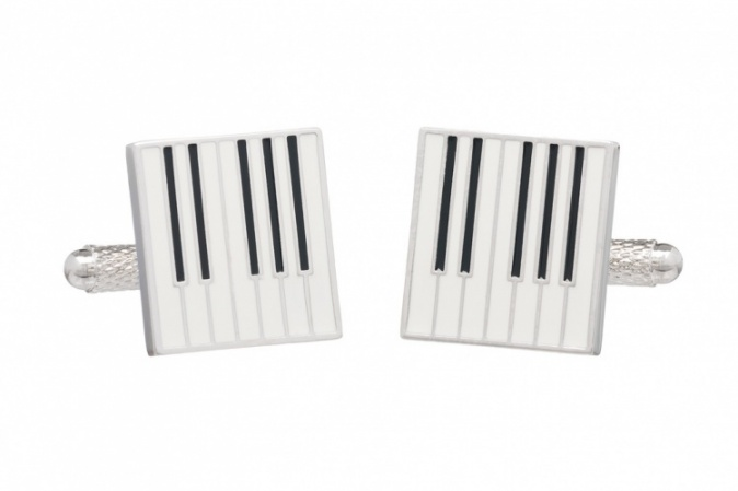 Keyboard Piano Cufflinks